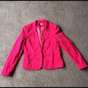Divided H&M hot pink blazer 8